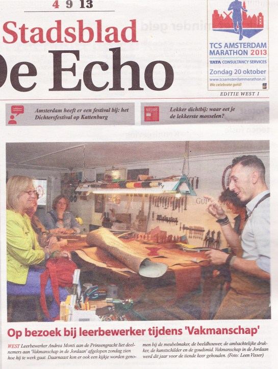 De Echo - voorpagina
